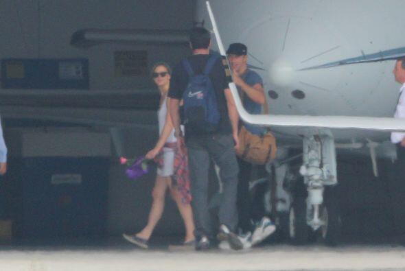 Pero no fue la única que entró, según el portal E News!, Taylor Swift ll...