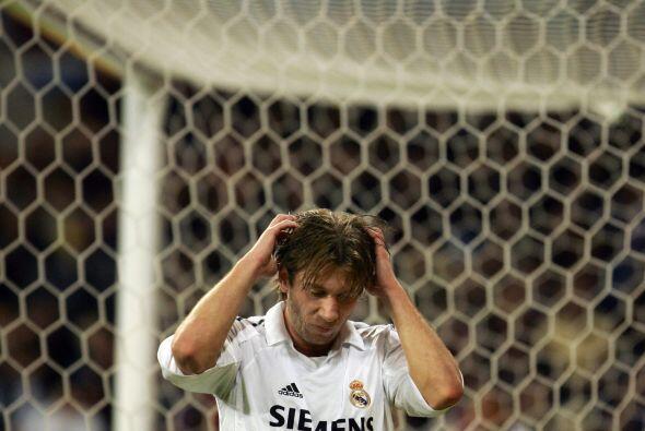 Pero el futbolista llegó con los 'merengues' en plena debacle de la era...