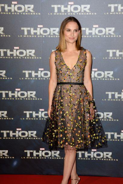 Esta famosa formó parte del elenco de Thor, así que estuvo de gira por d...