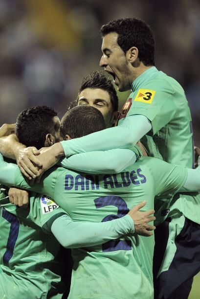 El Barcelona ganó, gustó y goleó. La victima fue el Hércules, el único e...