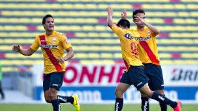 Monarcas no tuvo problemas para imponerse de local.