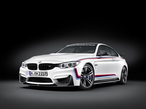 BMW M4 Coupé with M Performance Parts