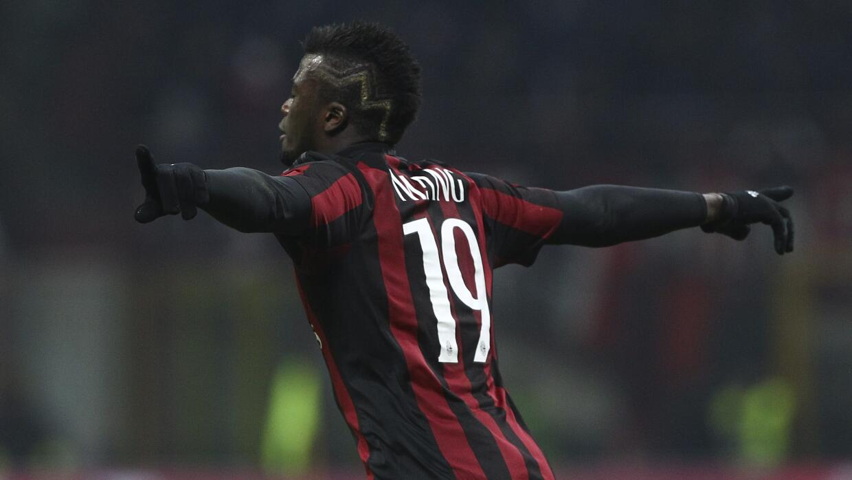 Niang lideró el triunfo del Milan.