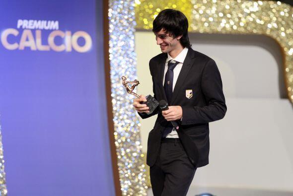 Por último, Pastore recibió el premio a Mejor Jugador Joven.