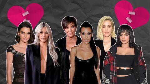 Kardashians con los corazones rotos