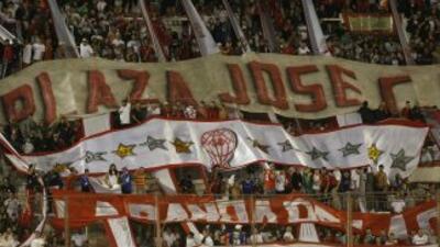 Los fans de Huracán vuelven a celebrar.