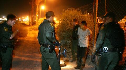 La Patrulla Fronteriza arresta a un hombre que trataba de entrar ilegalm...