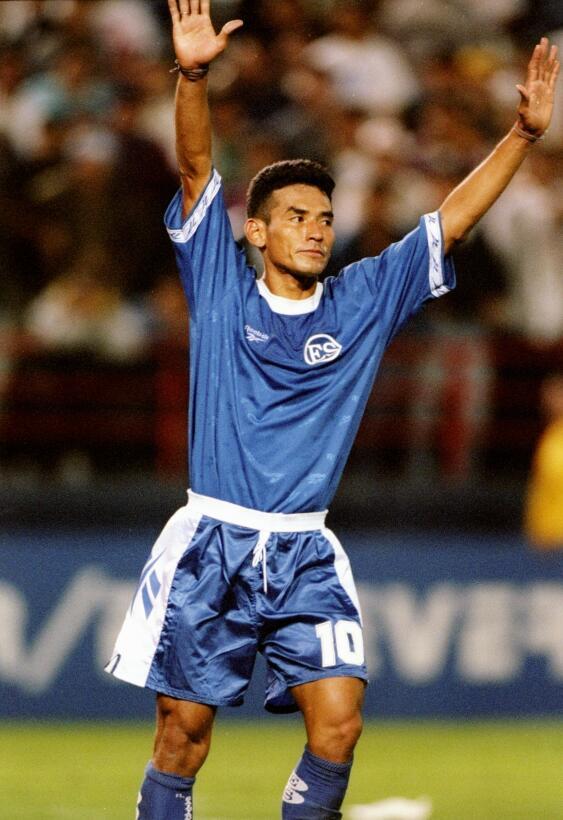 Raúl Díaz Arce (El Salvador) - 18 goles en 29 partidos durante tres elim...