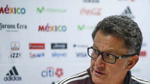 Juan Carlos Osorio ve como un gran reto el grupo que le tocó a M&...