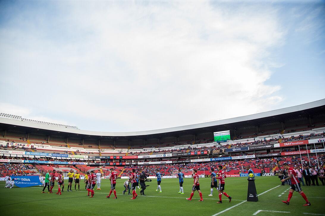 Los Xolos liquidaron a los Gallos en el Estadio Corregidora 20170412_320...