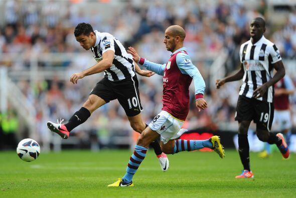 Finalmente, el Newcastle y Aston Villa empataron 1-1.