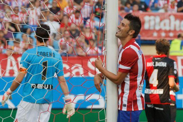 David Villa no pudo sumar otro gol con su nuevo equipo.