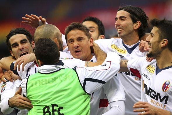 El partido quedó 2-1 a favor de los locales con goles de Marco Rossi y L...