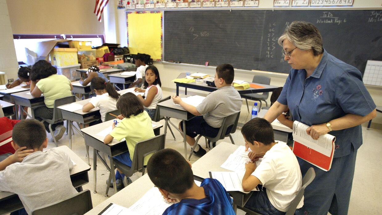 Los castigos físicos se utilizan más en las escuelas primarias que en ot...