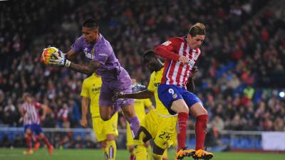 Costoso empate de Atlético con Villarreal