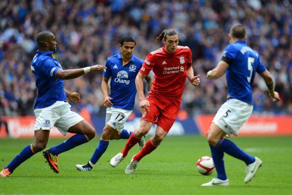 El Everton parecía apostar por aguantar el marcador.