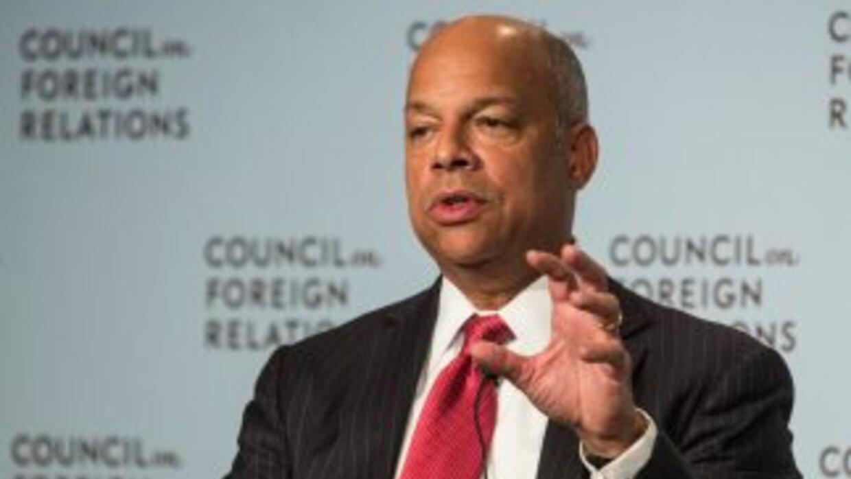 Jeh Johnson,Secretario del Departamento de Seguridad Nacional de Estado...