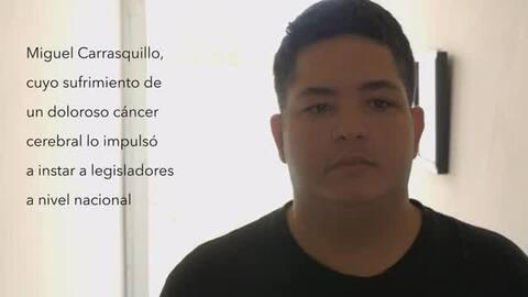 Miguel Carrasquillo grabó un video 10 días antes de morir