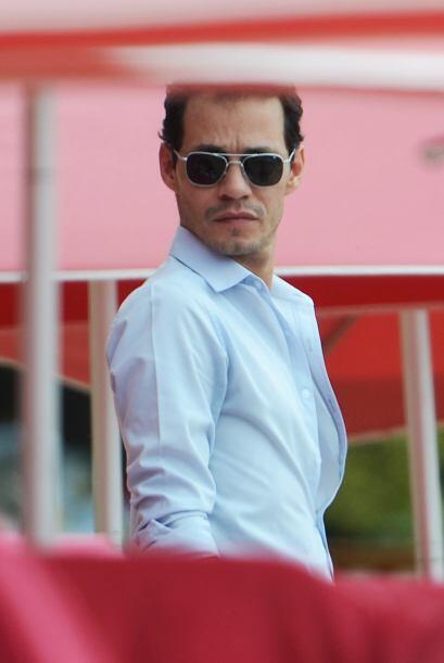 Marc Anthony no presume de ser tan guapo, pero sin duda le romper&iacute...