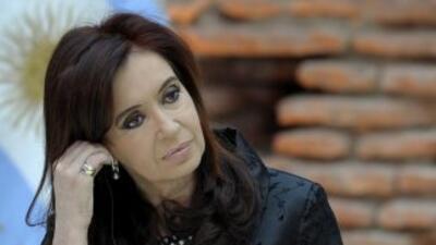 Cristina Fernández fue internada en un centro de salud de Buenos Aires d...