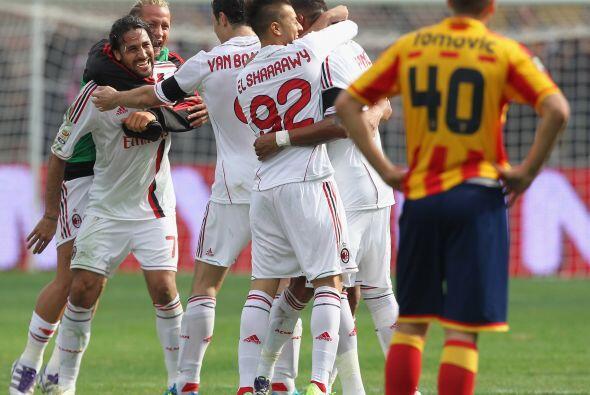 El Milan sacó un resultado que parecía casi imposible al vencer al Lecce...