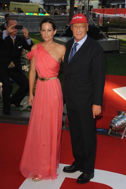 Niki Lauda no podía faltar, la película está basada en un año su vida.