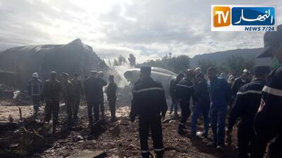 En fotos: El peor desastre aéreo en Argelia deja más de 250 muertos