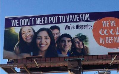 La polémica campaña de prevención contra la marihuana