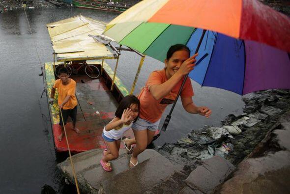 Se trata de un área densamente poblada donde se espera que la tormenta g...