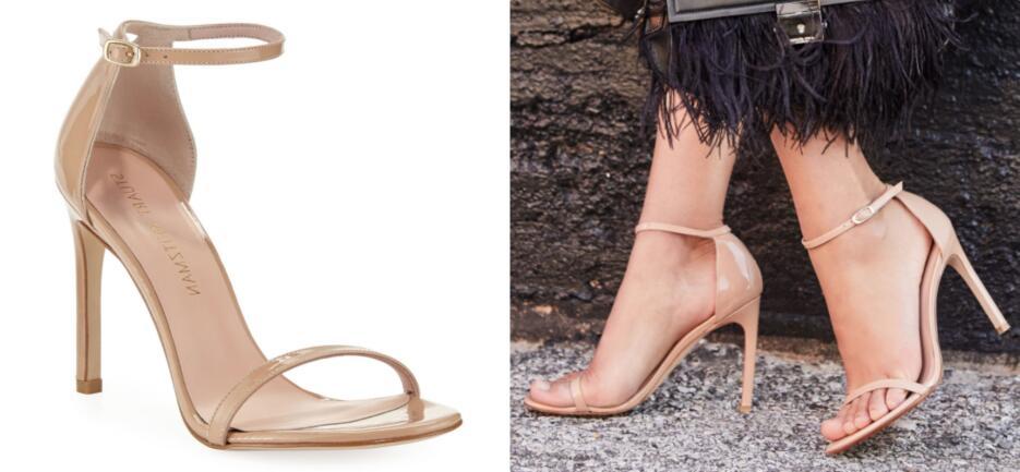 Galilea zapatos nude galería