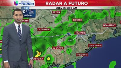 Ventana al Tiempo: Así estarán las condiciones climáticas durante este jueves en Houston