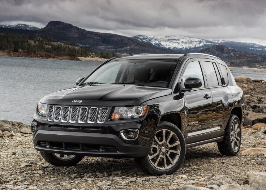 La SUV pequeña menos satisfactoria – Jeep Compass: Asientos delanteros i...