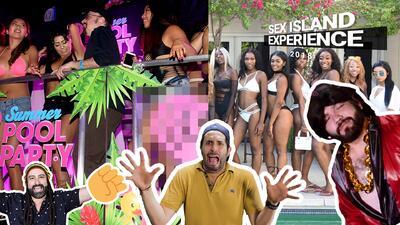'Sex Island Experience', la fiesta sexual a la que muchos hombres quisieran ir