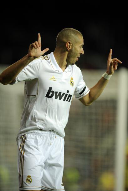 Apenas se cumplían cinco minutos y Karim Benzema abría el marcador.