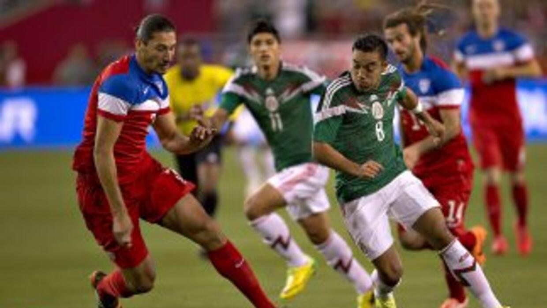 México y Estados Unidos empataron en un entretenido partido jugado en Ph...