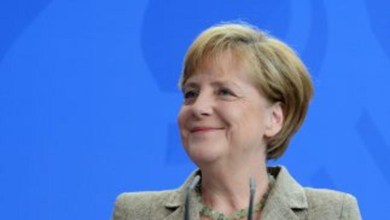 La Canciller de Alemania, Angela Merkel, ve serias posibilidades en que...