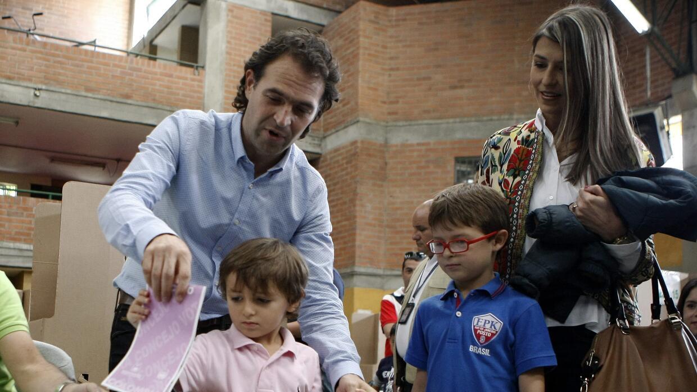 El ingeniero civil Federico Gutiérrez, candidato del Movimiento Creemos.