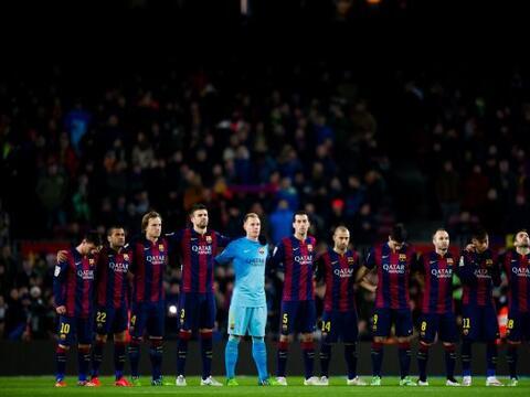 El Camp Nou fue el escenario donde se vieron las caras Barcelona y Atl&e...