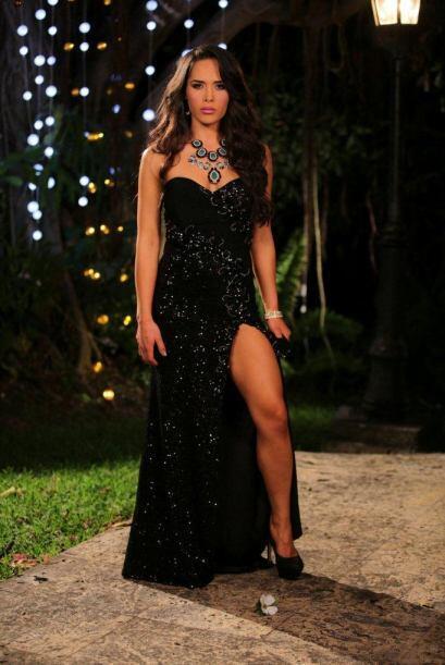 Para María Delgado estar en Nuesta Belleza es un sueño después de haber...