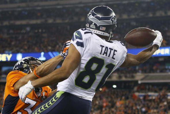 Interferencia marcada a Tony Carter sobre Golden Tate (AP-NFL).
