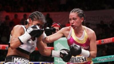 Joselyn Arroyo nueva campeona interina mosca AMB (Foto: AMB).