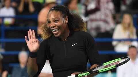 Serena fue sometida a una cesárea de emergencia, después s...