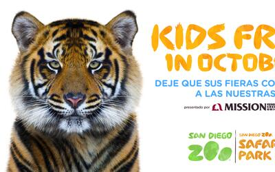 Kids Free in October at SD Zoo