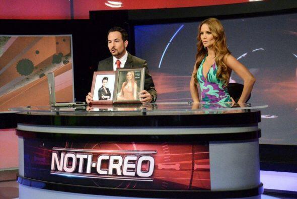 Ximena Córdoba le pidió que la dejara conducir el Noti-Creo y le dio un...