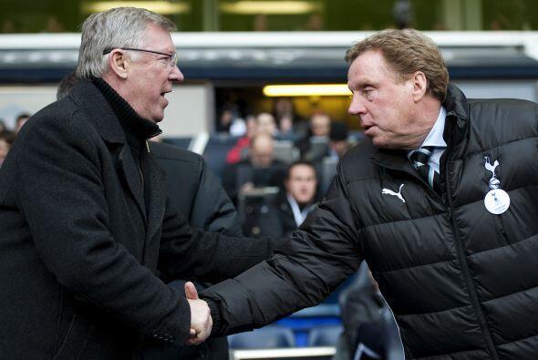 Los técnicos, Sir Alex Ferguson y Harry Redknapp, se despidieron apenas...