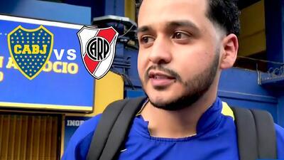 Seguidor de Boca viajó desde El Salvador y pagó 1000 dólares para ver la final de la Libertadores