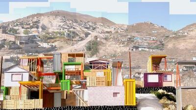 """En su proyecto """"Manufactured Sites"""" (Sitios Fabricados), Cruz..."""