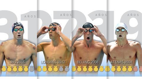 Michael Phelps se despidió de Río 2016 con la medalla de oro número 23 e...