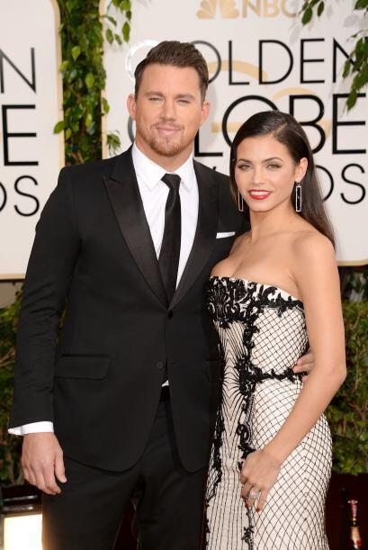 Channing Tatum más que guapísimo en ese traje de Gucci y su esposa, Jenn...