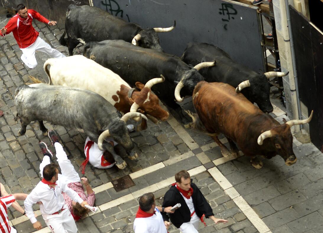 Fiestas españolas de San Fermín: ¿tortura o tradición? GettyImages-81419...